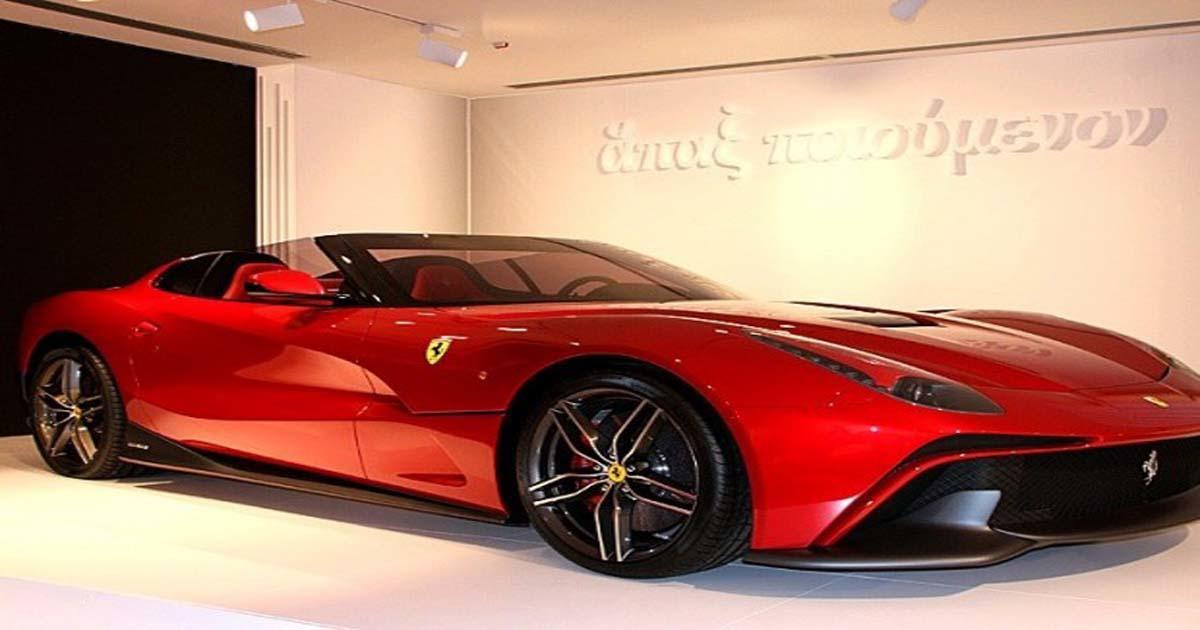 Συγκλονίζει η ελληνική επιγραφή (ἅπαξ ποιούμενον) στο μουσείο της Ferrari