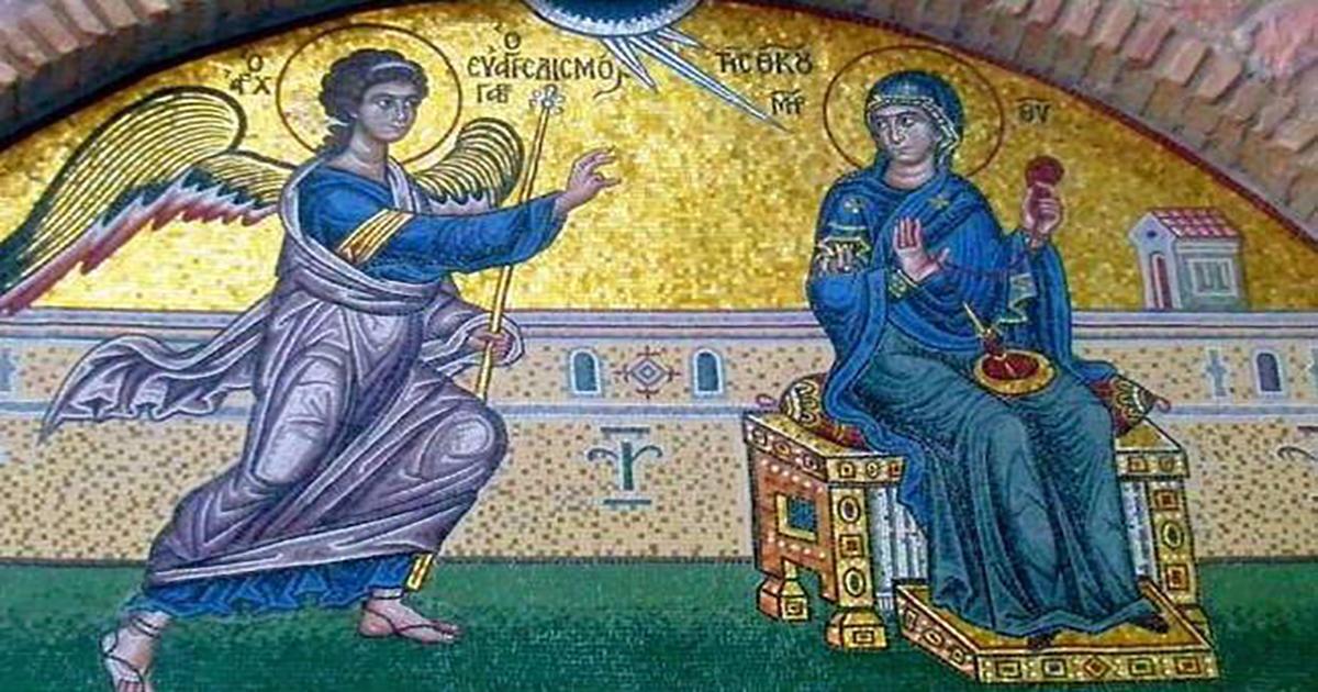 Γιατί εορτάζουμε την 25η Μαρτίου και ο Ευαγγελισμός της Θεοτόκου;