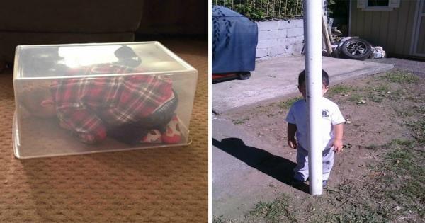 20 Πιτσιρίκια που Δεν θα Μάθουν Ποτέ να Παίζουν Κρυφτό.