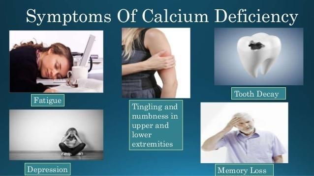 Calcium Deficiency.
