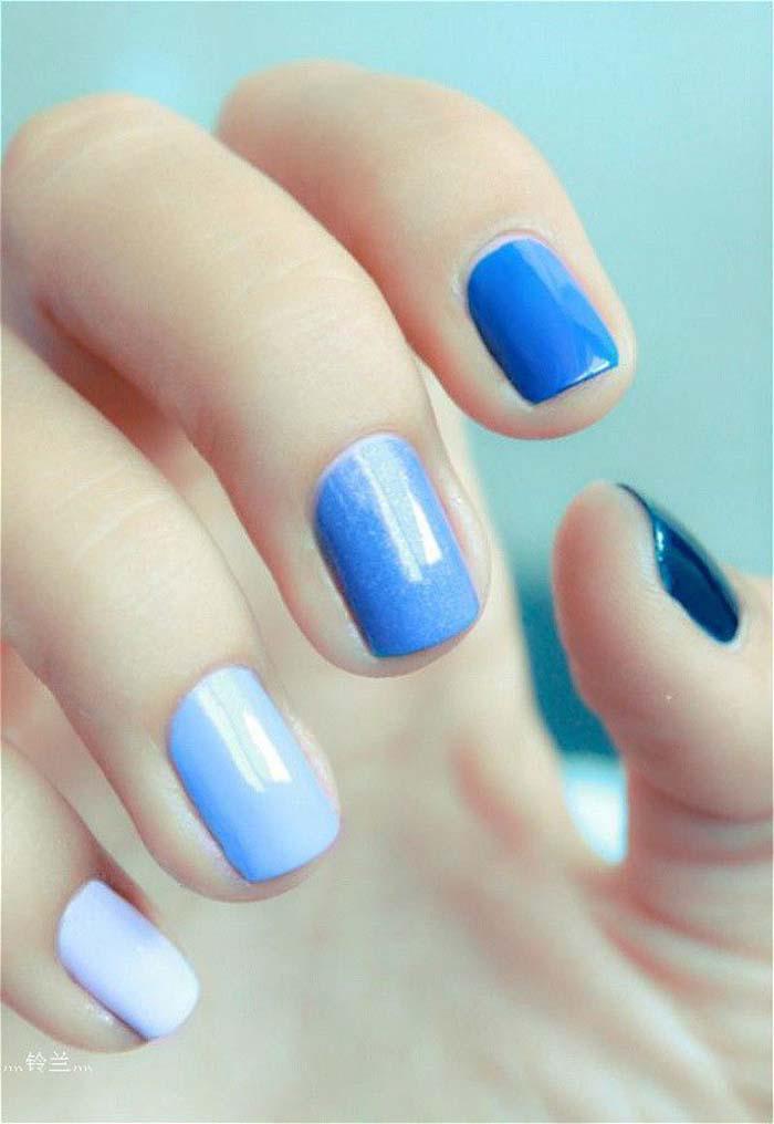 Παστέλ μανικιούρ: 48 υπέροχες ιδέες για υπέροχα καλοκαιρινά νύχια (10)
