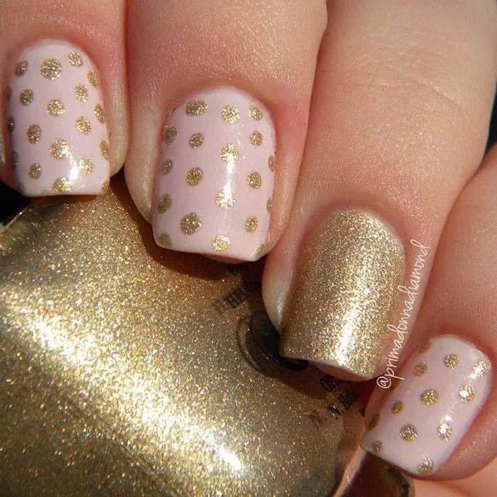 Παστέλ μανικιούρ: 48 υπέροχες ιδέες για υπέροχα καλοκαιρινά νύχια (11)