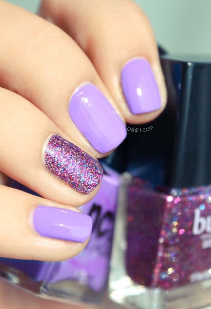Παστέλ μανικιούρ: 48 υπέροχες ιδέες για υπέροχα καλοκαιρινά νύχια (15)
