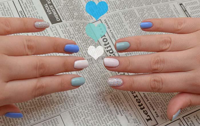 Παστέλ μανικιούρ: 48 υπέροχες ιδέες για υπέροχα καλοκαιρινά νύχια (25)