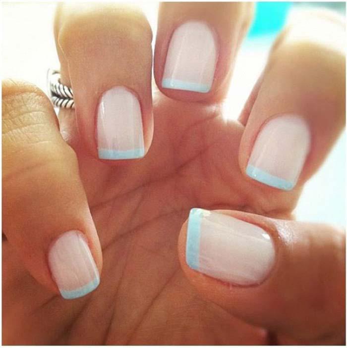 Παστέλ μανικιούρ: 48 υπέροχες ιδέες για υπέροχα καλοκαιρινά νύχια (27)
