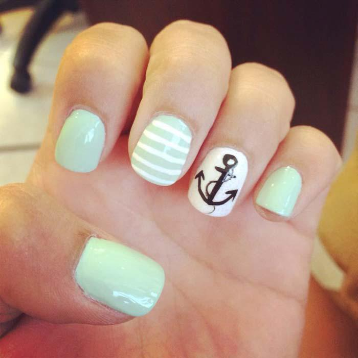 Παστέλ μανικιούρ: 48 υπέροχες ιδέες για υπέροχα καλοκαιρινά νύχια (30)