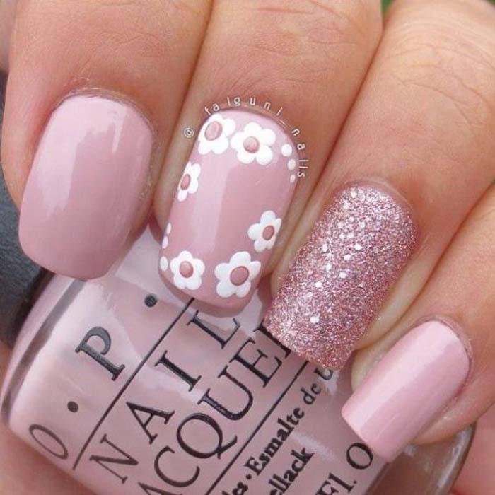 Παστέλ μανικιούρ: 48 υπέροχες ιδέες για υπέροχα καλοκαιρινά νύχια (31)