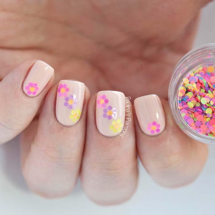 Παστέλ μανικιούρ: 48 υπέροχες ιδέες για υπέροχα καλοκαιρινά νύχια (39)