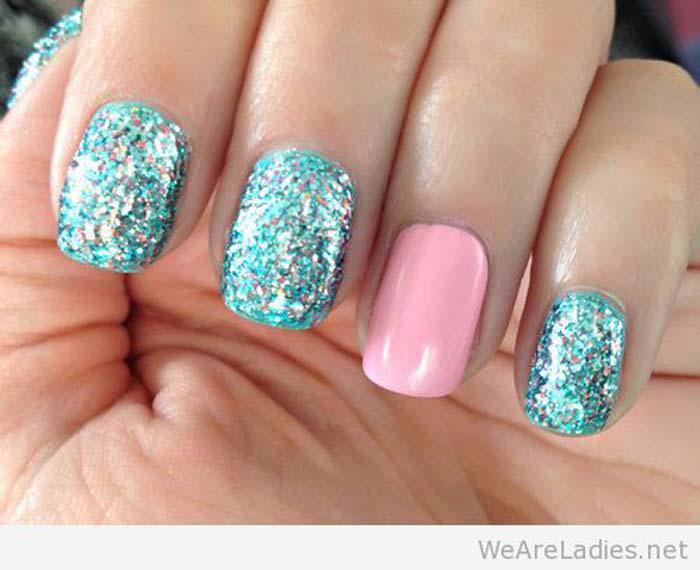 Παστέλ μανικιούρ: 48 υπέροχες ιδέες για υπέροχα καλοκαιρινά νύχια (40)