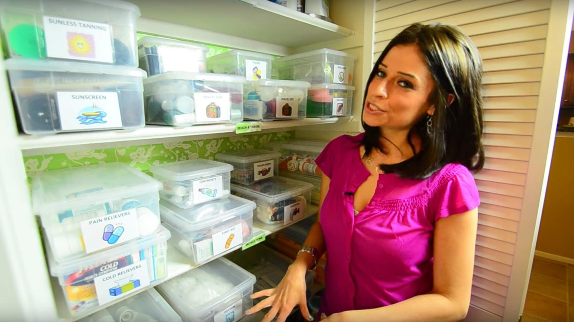 If you're organizing Alejandra-style, you can never have too many containers.