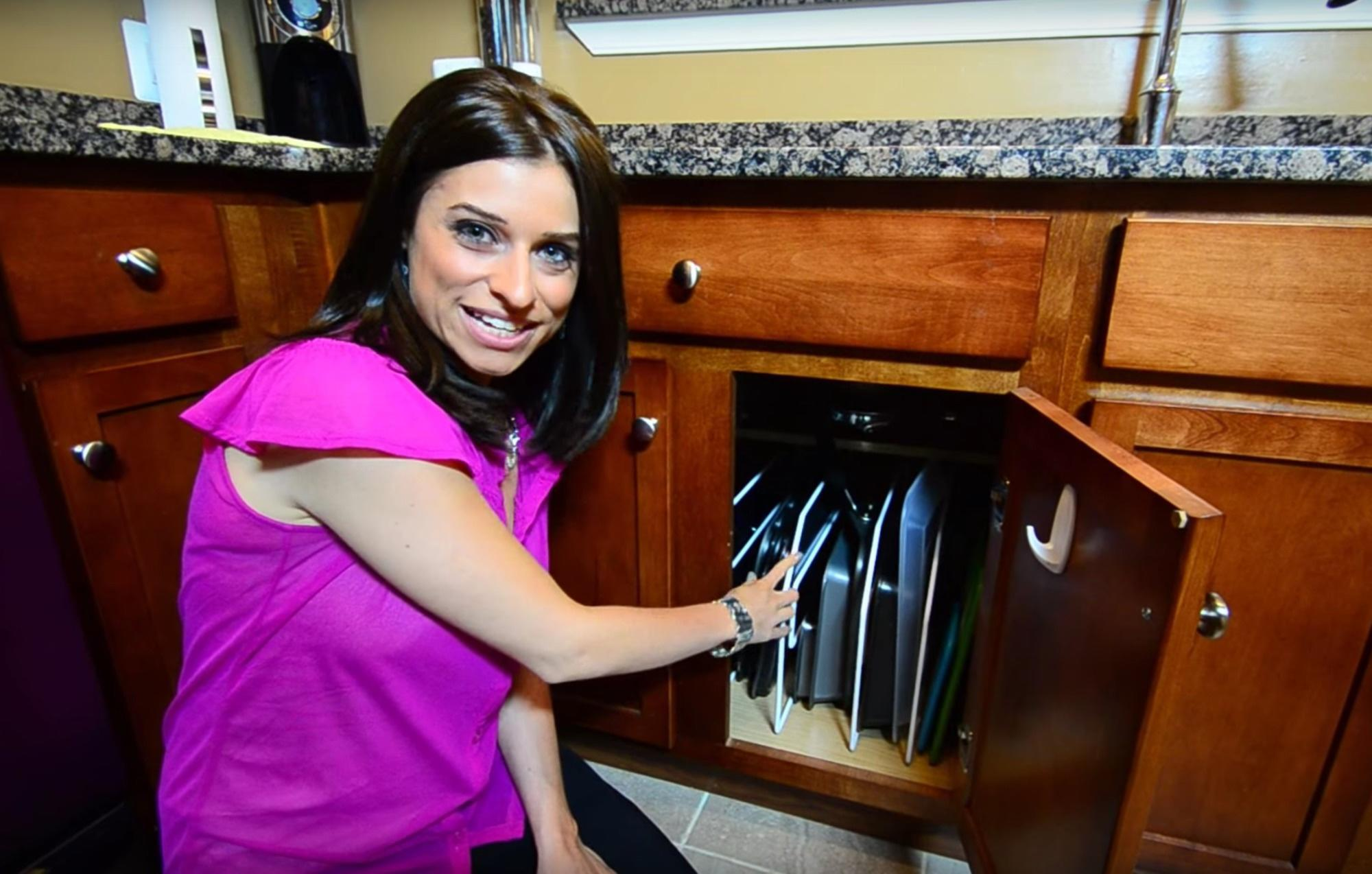 The idea is to bring helpful, easy tips to people who'd like to have a home as organized as hers.