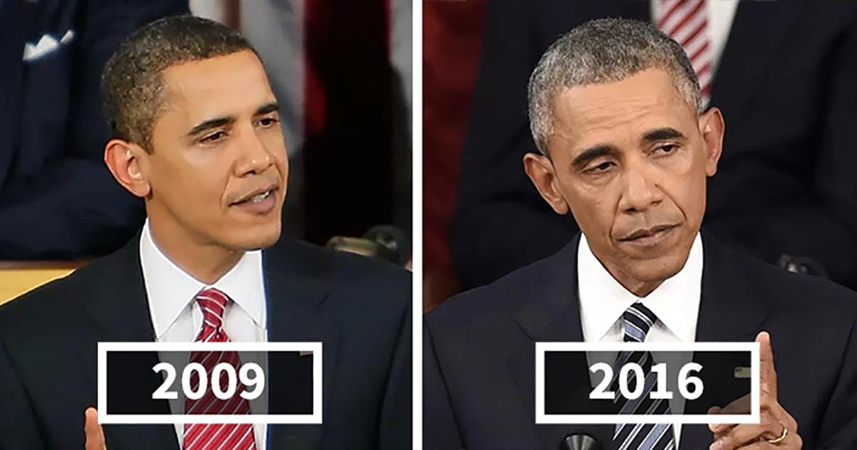 10 Αμερικανοί πρόεδροι των ΗΠΑ πριν και μετά την προεδρική τους θητεία.