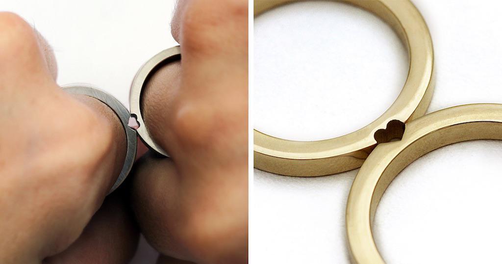 Καλλιτέχνης δημιουργεί βέρες που κάθε ζευγάρι νεόνυμφων θα ήθελε για το γάμο του