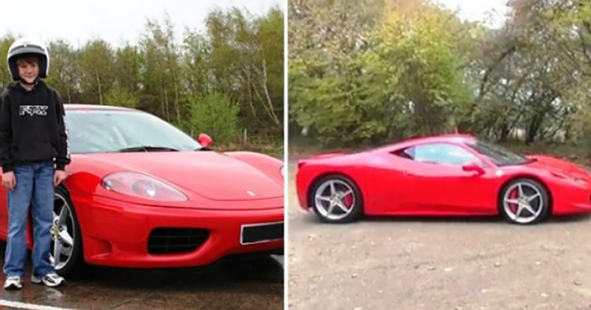 15χρονος γύρισε σπίτι με Ferrari την οποία αγόρασε με μόλις 15$