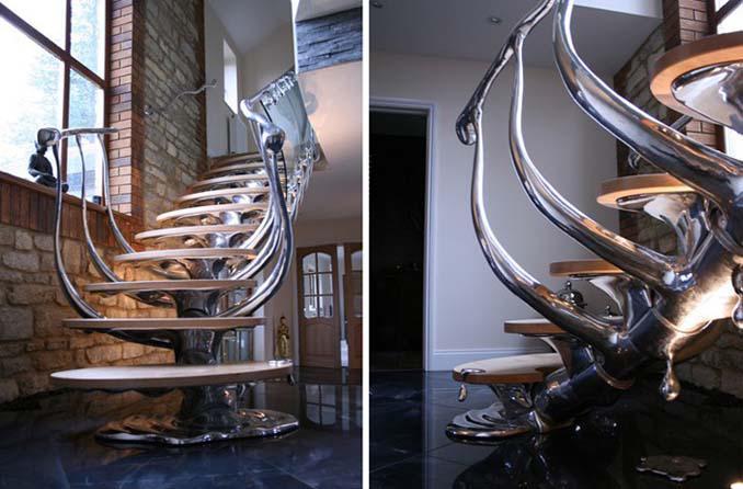 Απίστευτες εσωτερικές σκάλες που μας άφησαν με το στόμα ανοιχτό