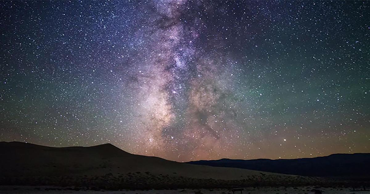 Πως φαίνεται ο νυχτερινός ουρανός σε διάφορα επίπεδα φωτορύπανσης –  διαφορετικό