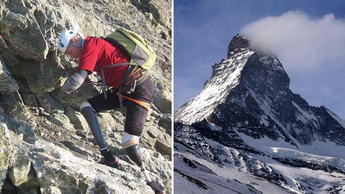 Όταν η δύναμη της ανθρώπινης θέλησης θριαμβεύει: Ανέβηκε στα 4.478 μέτρα με προσθετικά χέρια και πόδια