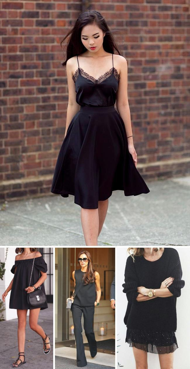 bbab5e2626ca 12 χρυσοί στιλιστικοί κανόνες για να φορέσετε ΣΩΣΤΑ τα μαύρα σας ...
