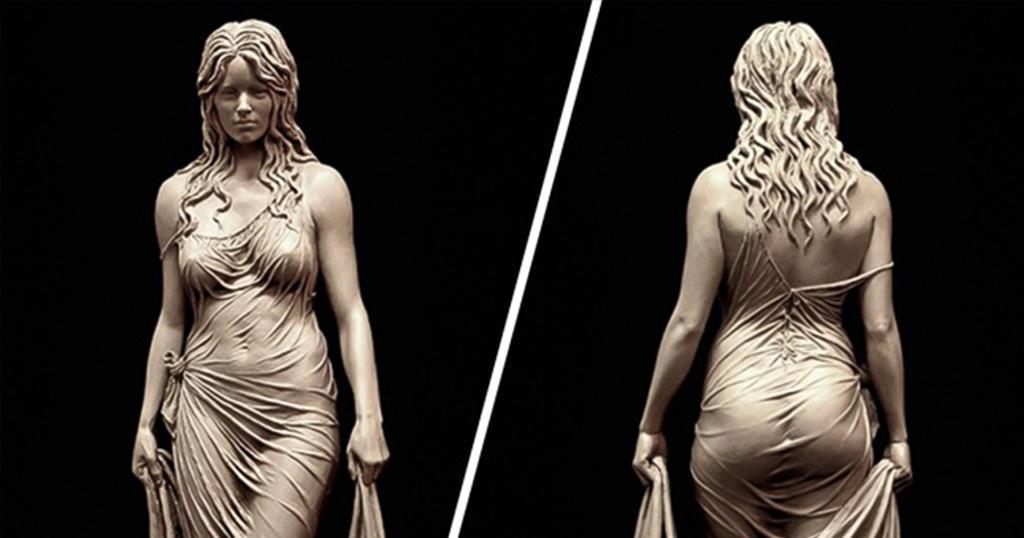 15 αριστουργηματικά μαρμάρινα αγάλματα που είναι έτοιμα να ζωντανέψουν.