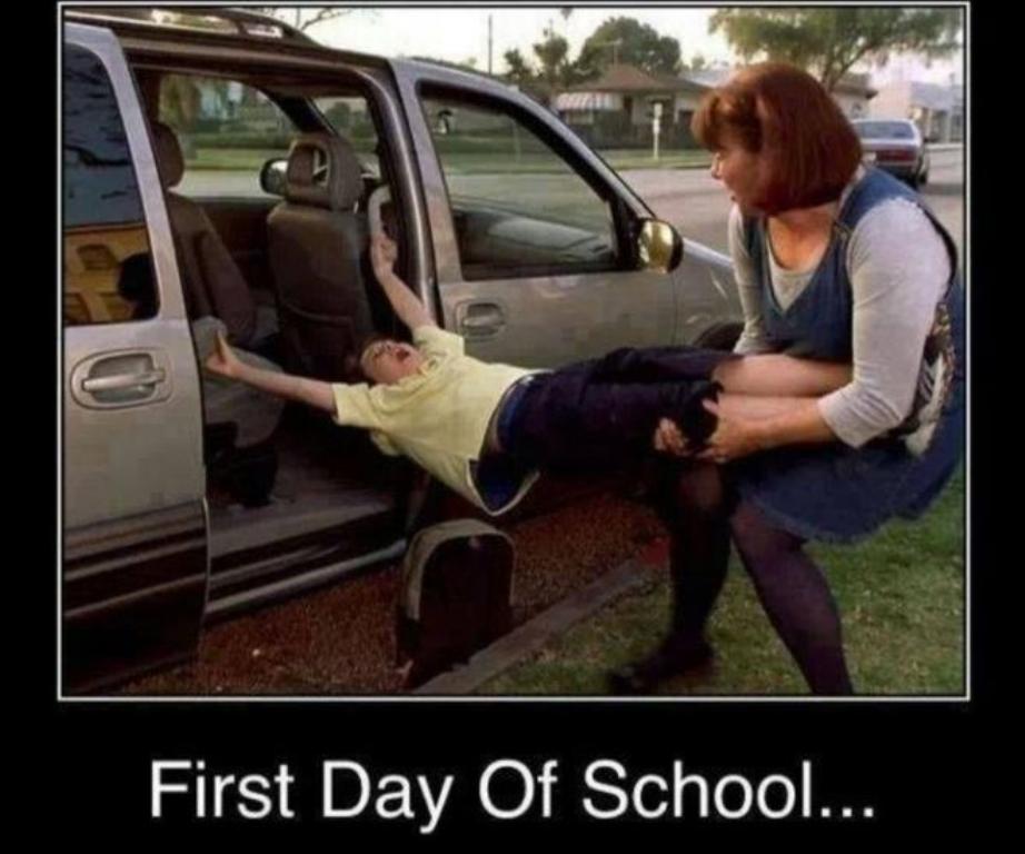 To δράμα μιας μητέρας για την πρώτη ημέρα στο σχολείο