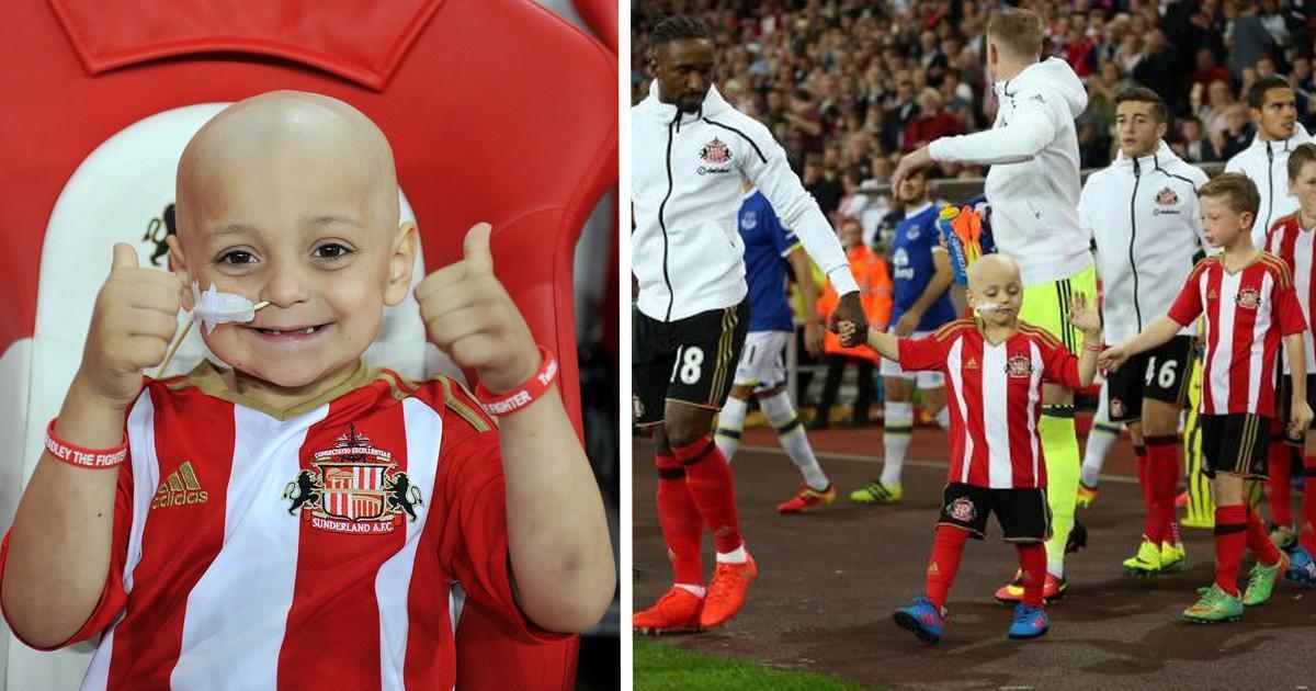 Συγκλονιστικό: Σηκώθηκε στο «πόδι» γήπεδο της Premier League για 5χρονο αγοράκι που δίνει μάχη με τον καρκίνο