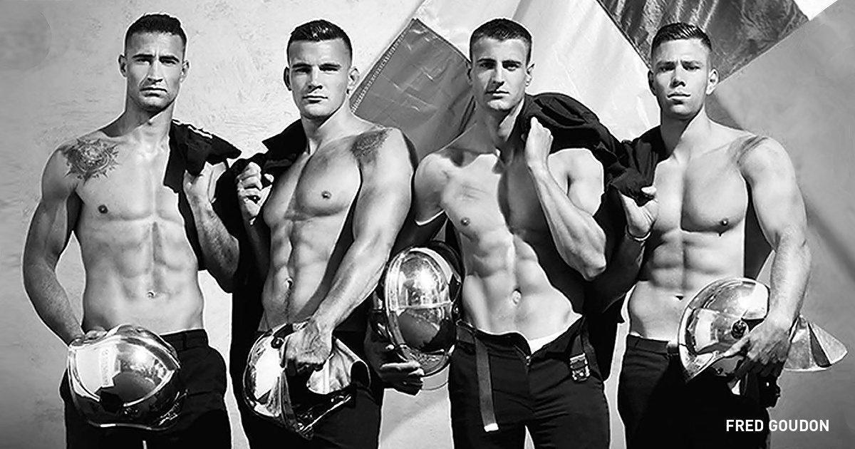 Γάλλοι Πυροσβέστες δημοσίευσαν το πιο εντυπωσιακό ημερολόγιο της χρονιάς.