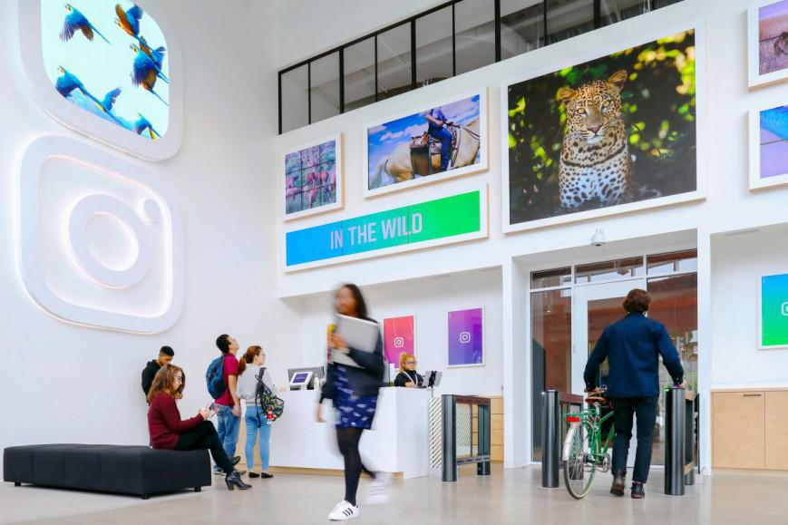 Tα εντυπωσιακά νέα γραφεία του Ιnstagram είναι εμπνευσμένα από το ίδιο το app και αποτελούν τον χώρο που θα ήθελες να δουλεύεις