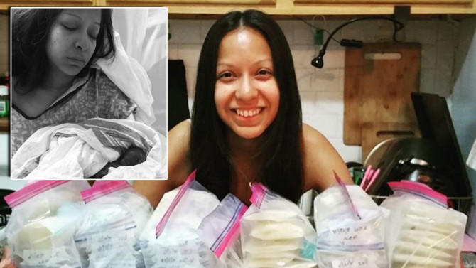 Μητέρα δωρίζει περισσότερα από 60 λίτρα μητρικού γάλακτος μετά την απώλεια του μωρού της