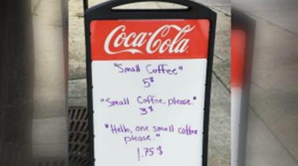 Λίγη ευγένεια… δεν έβλαψε κανέναν! Μπάρμαν ρίχνει την τιμή του καφέ στους ευγενικούς πελάτες