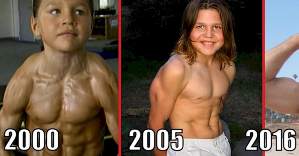 """Θυμάστε το μικρό παιδάκι με το σώμα """"bodybuilder""""; Δείτε πως είνα σήμερα ο μικρός Ηρακλής!"""