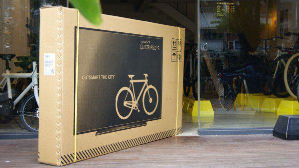 Εταιρεία ποδηλάτων τύπωσε τηλεοράσεις στα κουτιά συσκευασίας και μείωσε 80% τις ζημιές!
