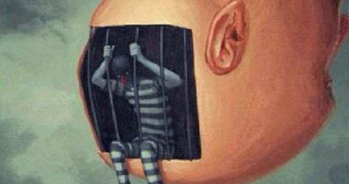 Ο άνθρωπος είναι αιχμάλωτος μόνο του μυαλού του. Κανενός άλλου!