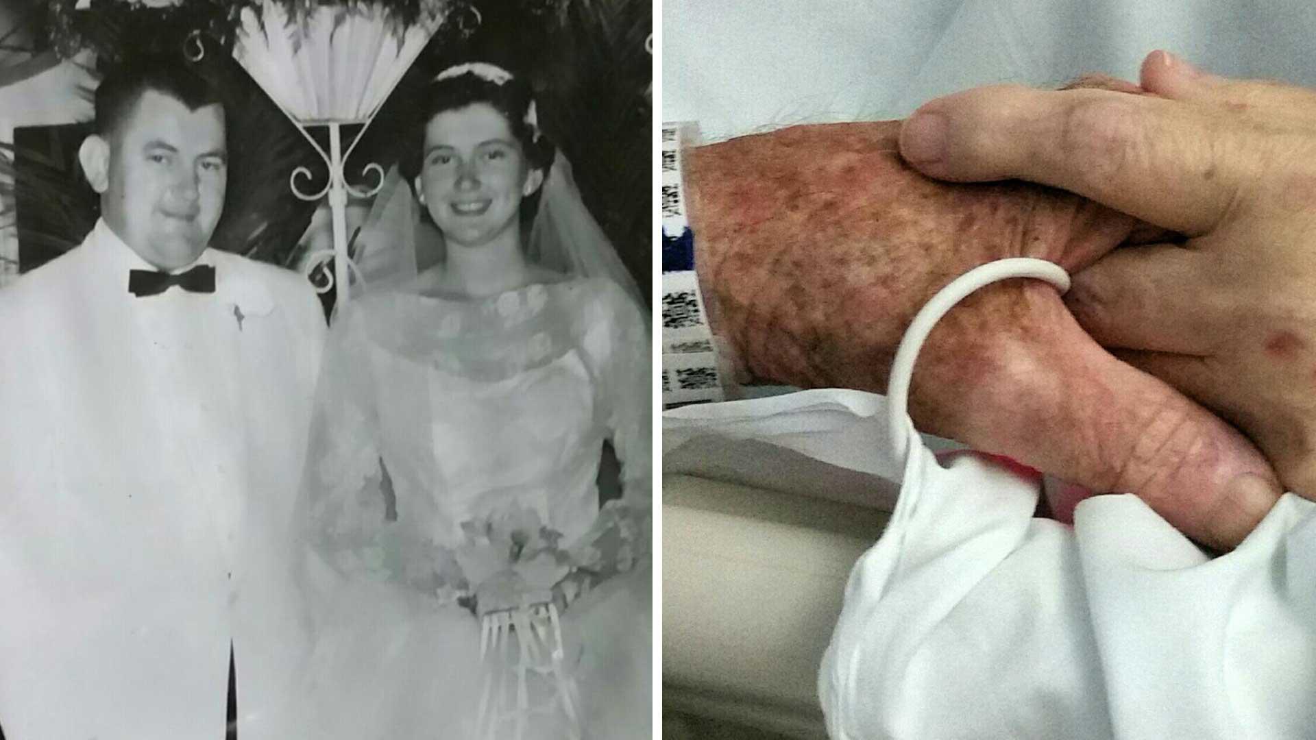 Ζευγάρι που έζησε μαζί 59 ολόκληρα χρόνια, πεθαίνουν την ίδια μέρα κρατώντας ο ένας το χέρι του άλλου