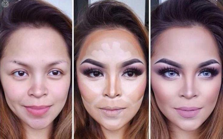 15+1 μεταμορφώσεις μακιγιάζ που θα σας αποδείξουν ότι πρόκειται για τέχνη