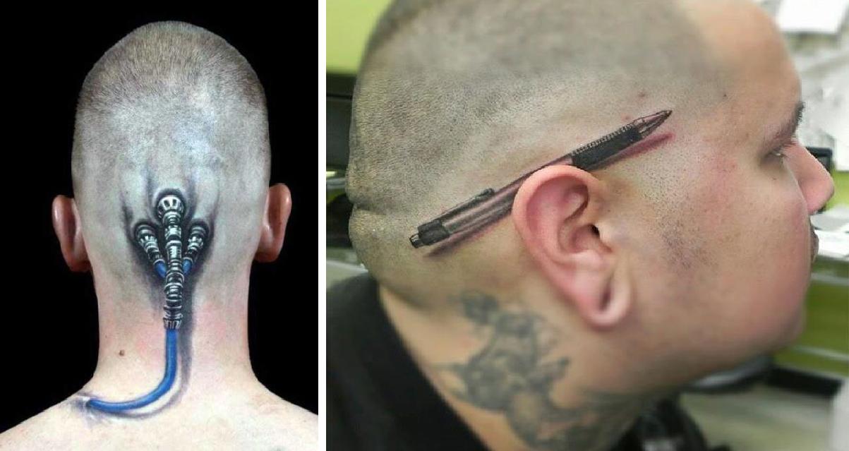 25 τέλεια 3D τατουάζ που θα σου κάψουν το μυαλό