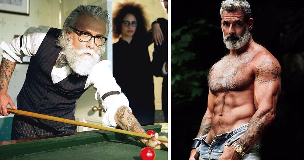 34 γοητευτικοί άνδρες που θα σας κάνουν να αλλάξετε εικόνα για τους μεγαλύτερους.