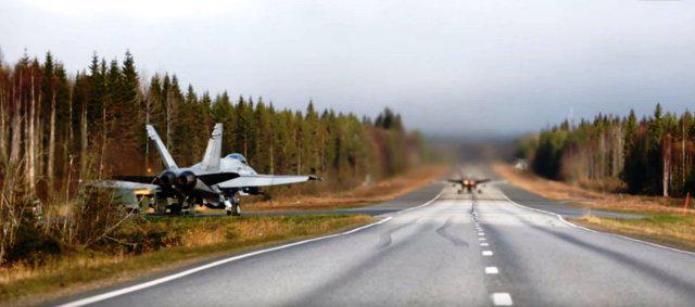 landing-on-a-road-finland