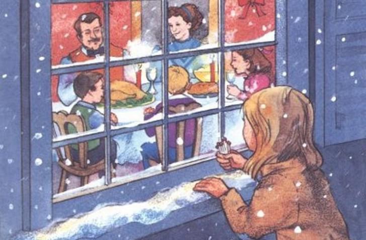 """Πριν από 171 χρόνια ο Χανς Κρίστιαν Άντερσεν έγραψε την πιο συγκινητική Χριστουγεννιάτικη ιστορία: Το """"κοριτσάκι με τα σπίρτα""""."""