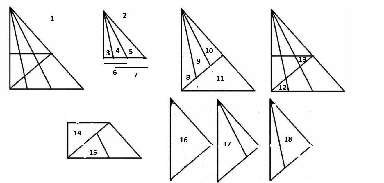 Μόνο οι πολύ έξυπνοι βλέπουν περισσότερα από 18 τρίγωνα…Εσείς πόσα μπορείτε να διακρίνετε;