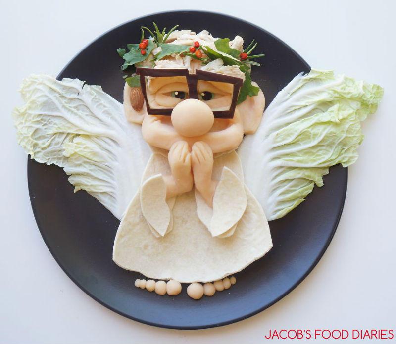 Αυτή η μαμά μετατρέπει το φαγητό σε καρτούν για να φάει λαχανικά ο «δύσκολος» γιος της!