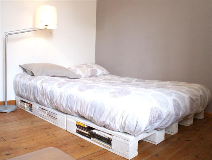 chic-white-pallet-platform-bed-with-storage