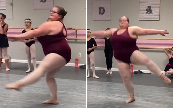 Η 15χρονη μπαλαρίνα με τα παραπάνω κιλά που έγινε μια εκπληκτική χορεύτρια και στέλνει ένα δυνατό μήνυμα