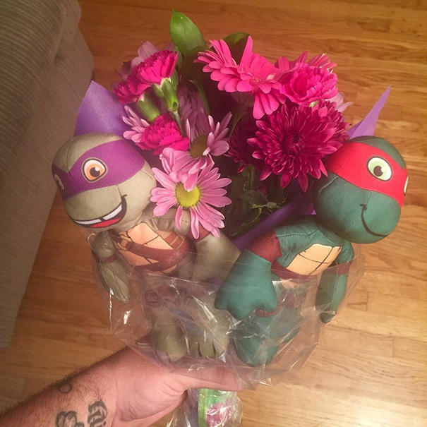 A single dad's gift for his baby girl on her first day of Kindergarten.