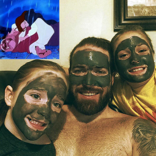 Just a regular spa day with the girls.