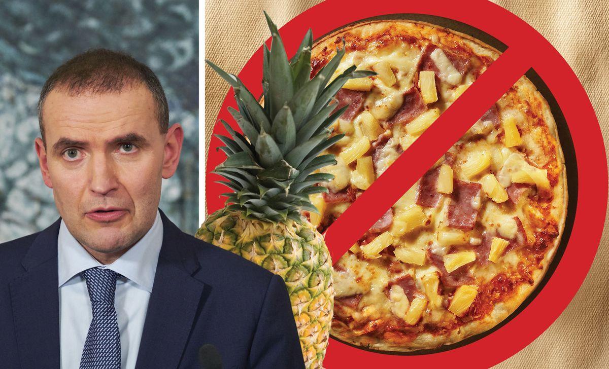 Επιτέλους: Ο πρόεδρος της Ισλανδίας δήλωσε πως άνετα θα απαγόρευε τη χρήση ανανά στην πίτσα