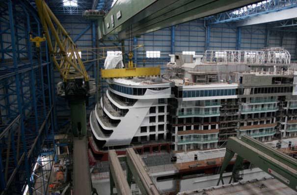 Κρουαζιερόπλοιο σε φάση κατασκευής (4)
