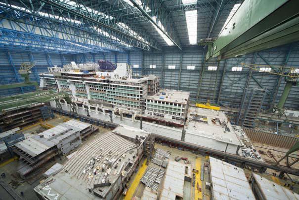 Κρουαζιερόπλοιο σε φάση κατασκευής (9)