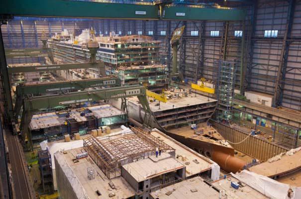 Κρουαζιερόπλοιο σε φάση κατασκευής (11)