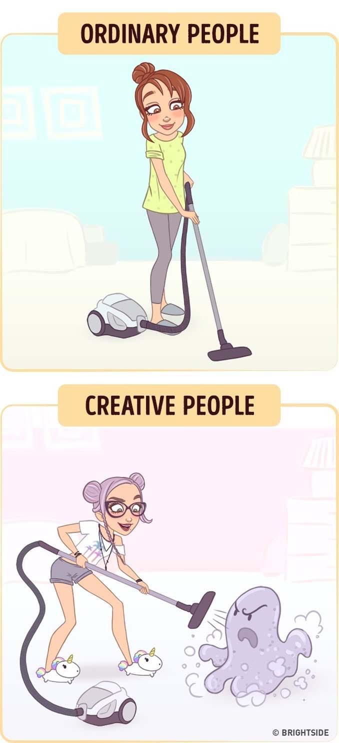 10 διασκεδαστικά σκίτσα δείχνουν πως βλέπουν τον κόσμο οι δημιουργικοί άνθρωποι (10)