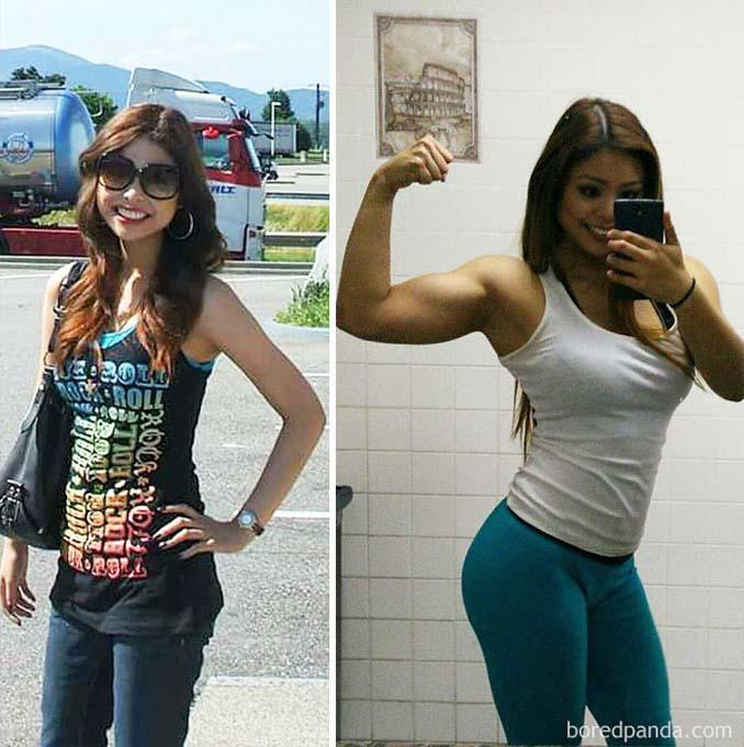 Πριν και Μετά τη γυμναστική: Εντυπωσιακές μεταμορφώσεις (7)